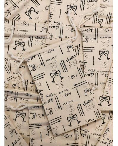 Vintage printed bag